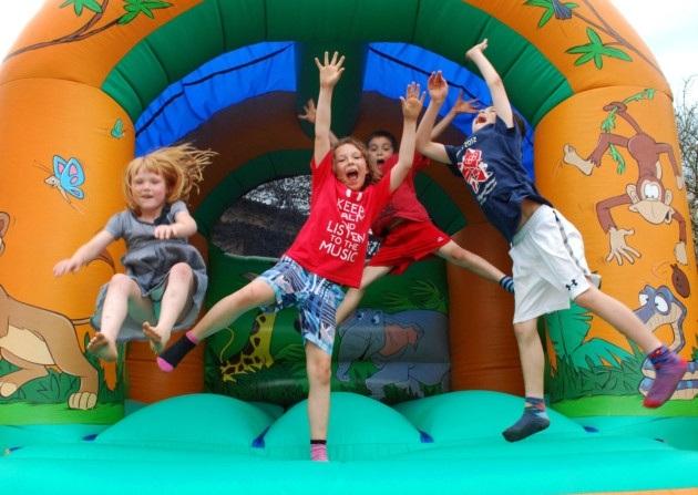 Image result for jumping castles for kids