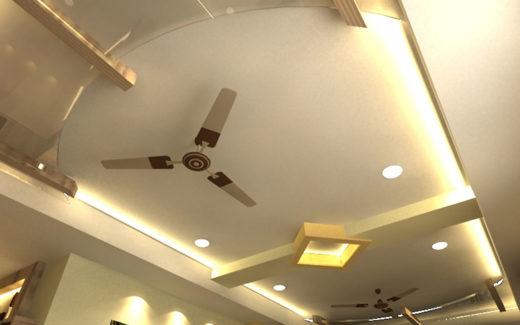 POP Cross Ceiling Channel