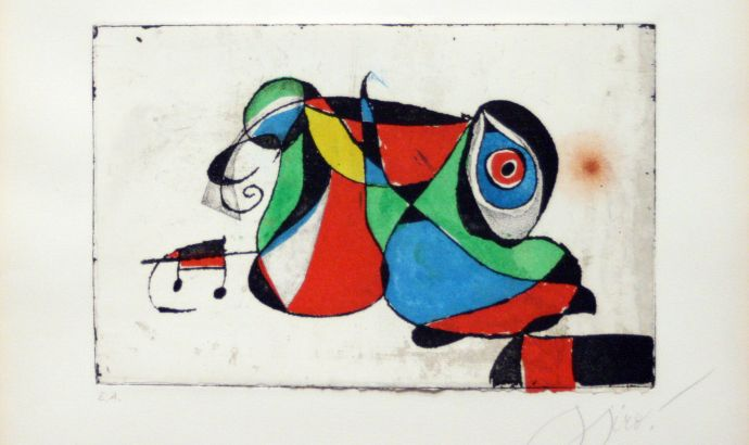 Joan Miro Painting